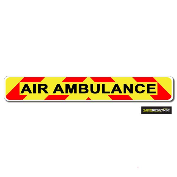Magnet AIR AMBULANCE Chevron Design Text (MG147)