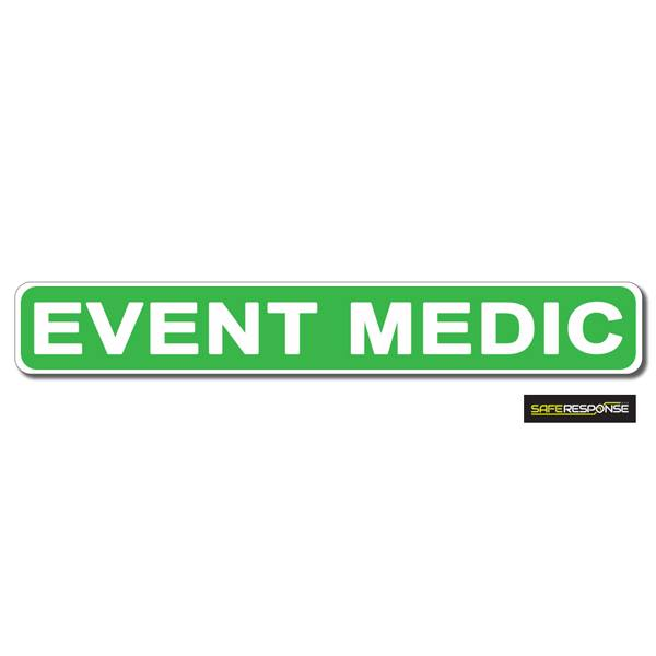 Magnet EVENT MEDIC Green with White Text (MG166)