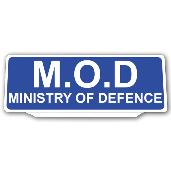 Univisor - MOD Ministry of Defence - Blue - UNV097