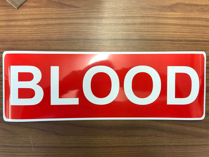 Magnet BLOOD Red 450 x2 (MG007)