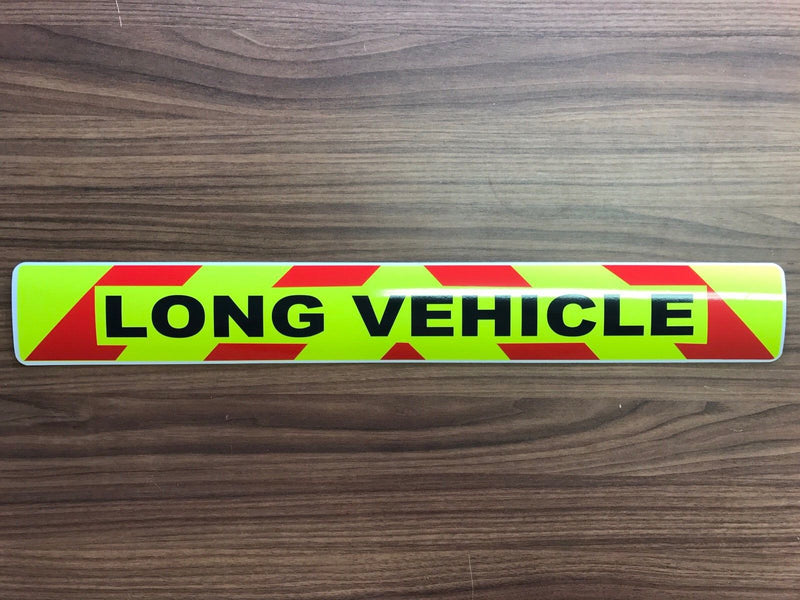 Sticker - Long Vehicle Chevron Design