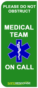 Numberplate Sticker - Medical Team - ST0072