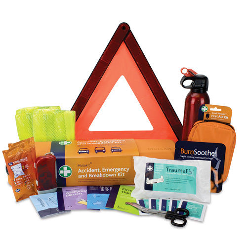 First Aid Kit - MotoKit Emergency / Accident / Breakdown / Incident Kit