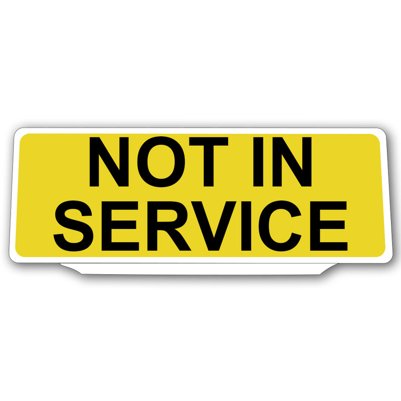 Univisor - Not In Service NIS - Yellow - UNV132