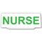 Univisor - Nurse - White with Green Text - UNV008