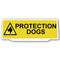 Univisor - Protection Dogs with 1 Dog Logo - Yellow - UNV148