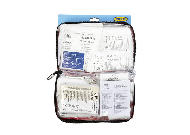 Ring Automotive - Travel / Vehicle / Car First Aid Kit RCT11