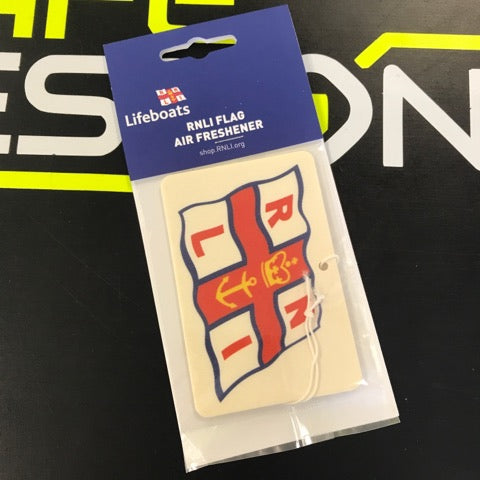 RNLI Flag Design Air Freshener