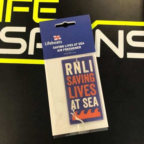 RNLI Saving Lives at Sea Design Air Freshener