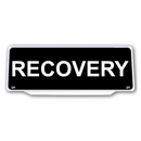 Univisor - RECOVERY - Black Background White Text - UNV289