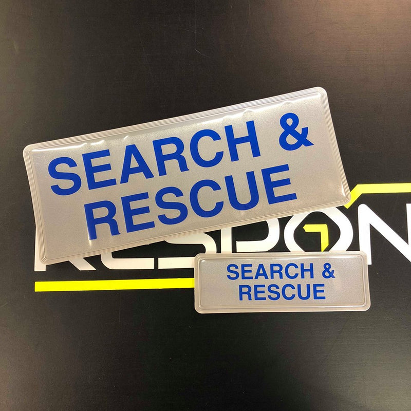 Reflective Badge - Search and Rescue Style2 250 Set
