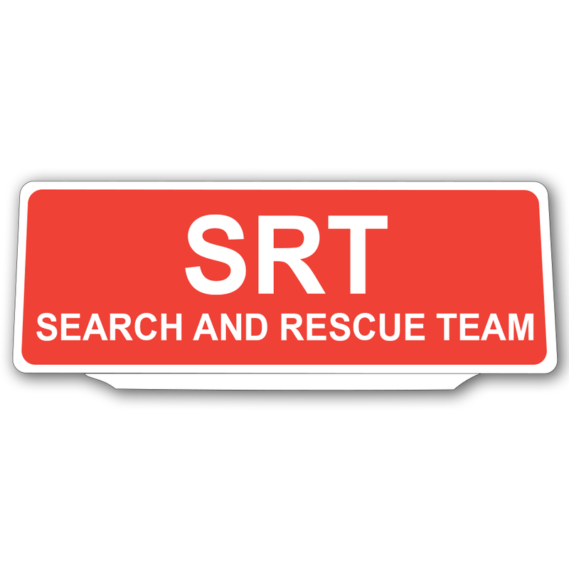 Univisor - SRT Search And Rescue Team - Red B/G - UNV193
