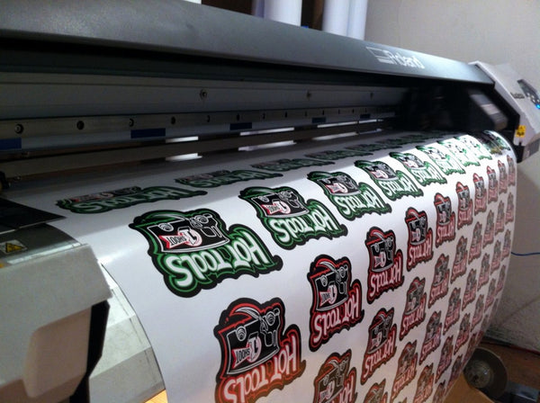 A Sheet size of 650mm x 1m of your sticker requirements