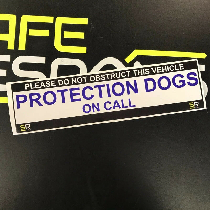 245mm Sticker - Protection Dogs on call - ST24515