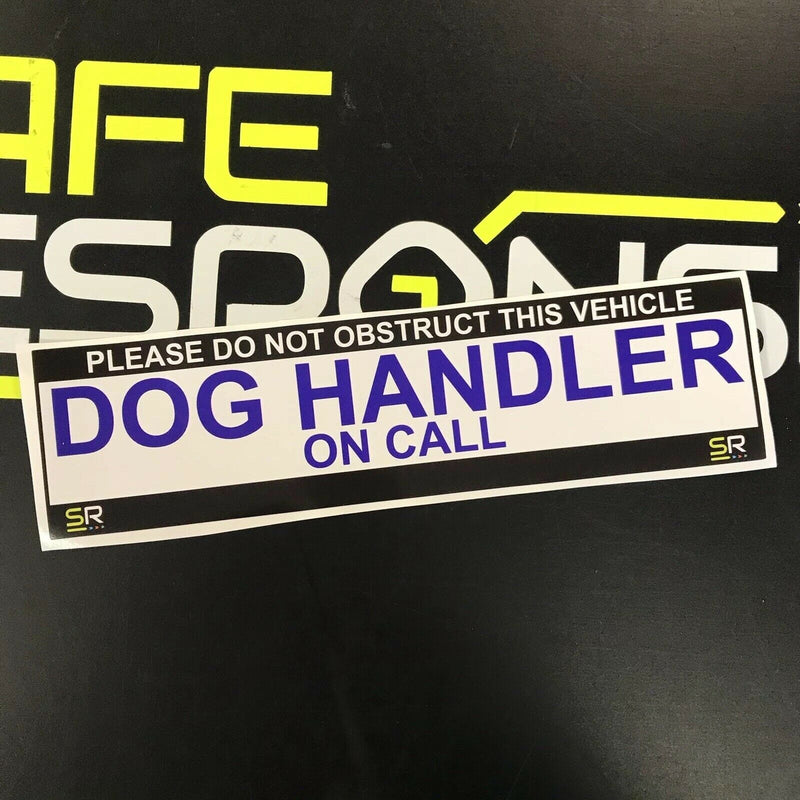 245mm Sticker - Dog Handler on Call - ST24517