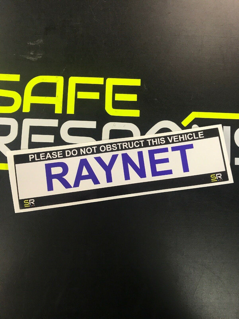 245mm Sticker - RAYNET - ST24529