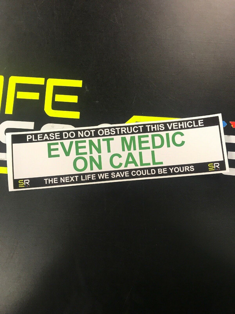 245mm Sticker - Event Medic - ST24537