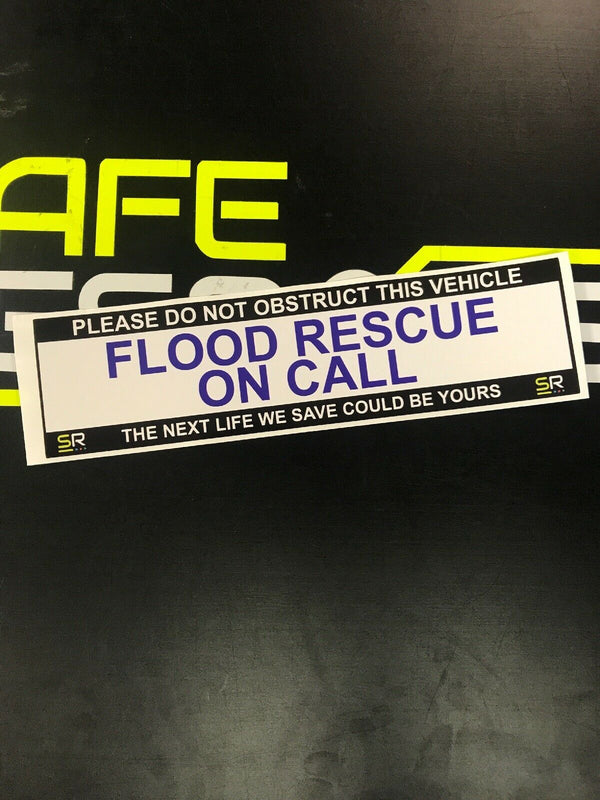 245mm Sticker - Flood Rescue - ST24543