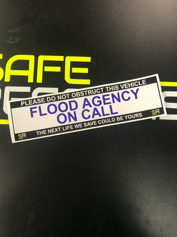 245mm Sticker - Flood Agency - ST24544