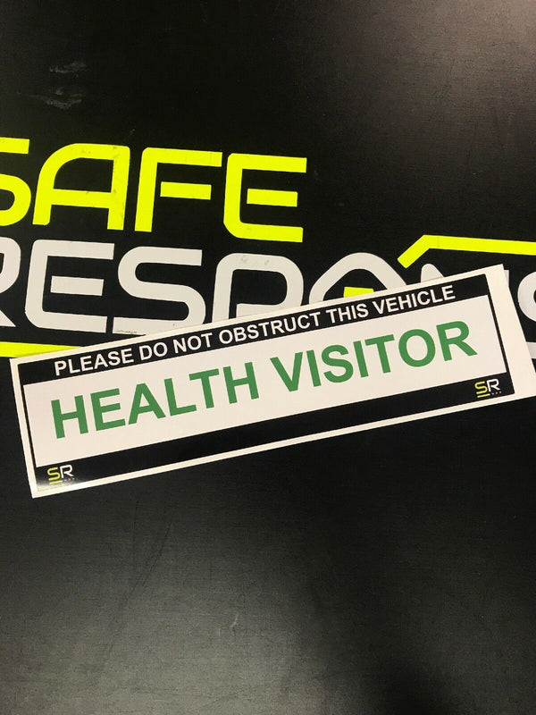 245mm Sticker - Health Visitor - ST24545