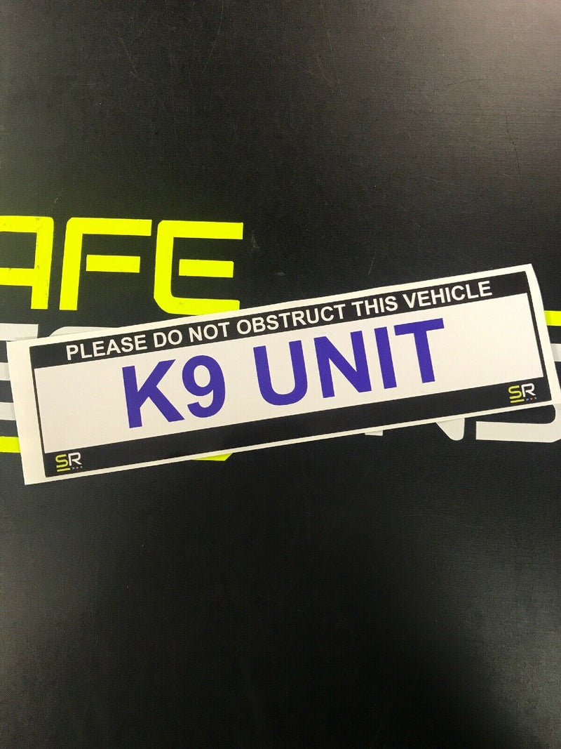 245mm Sticker - K9 Unit - ST24549