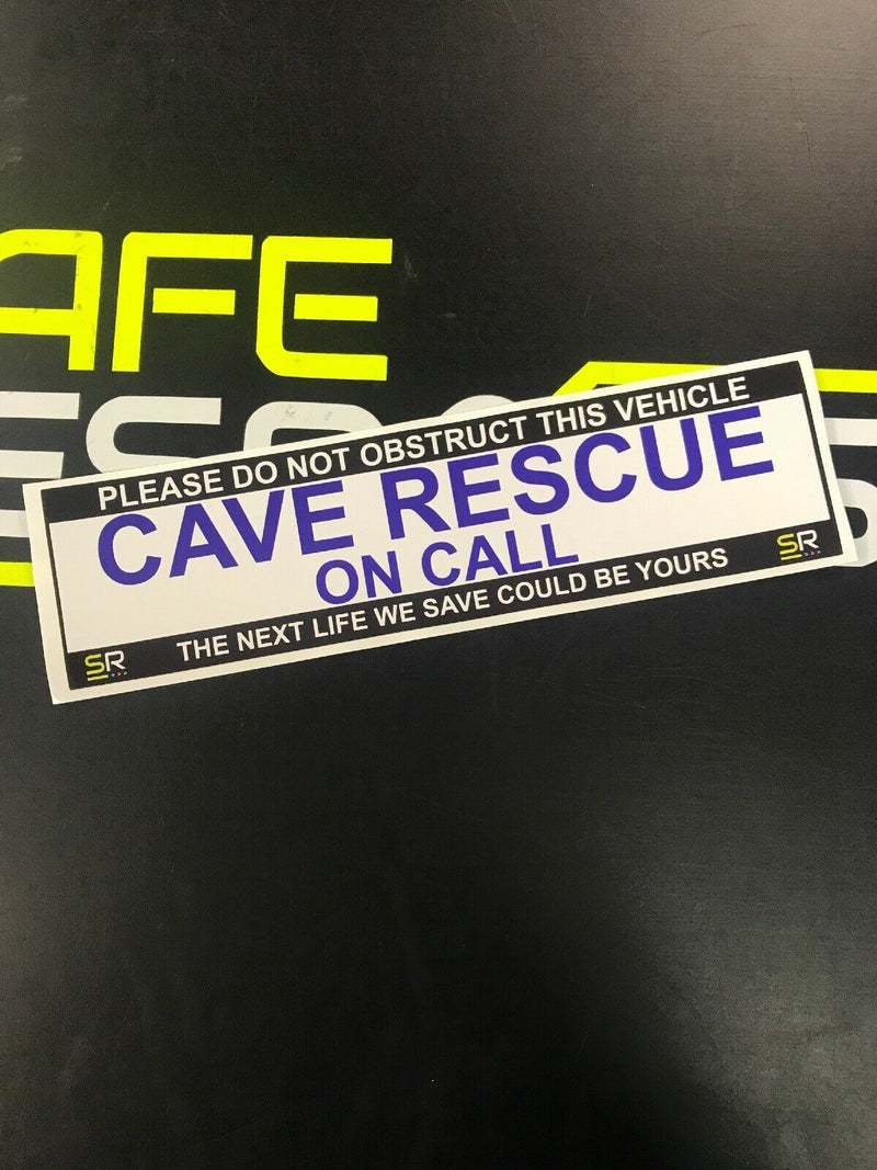 245mm Sticker - Cave Rescue - ST24555