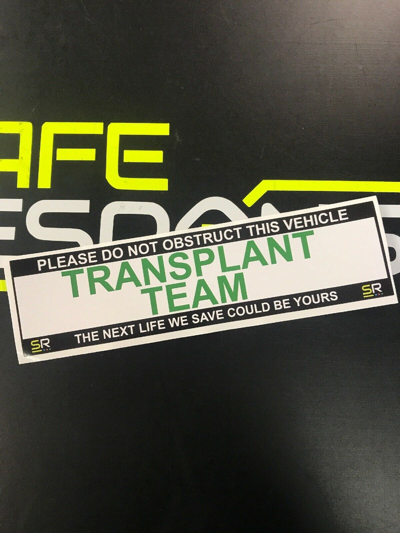 245mm Sticker - Transplant Team - ST24562