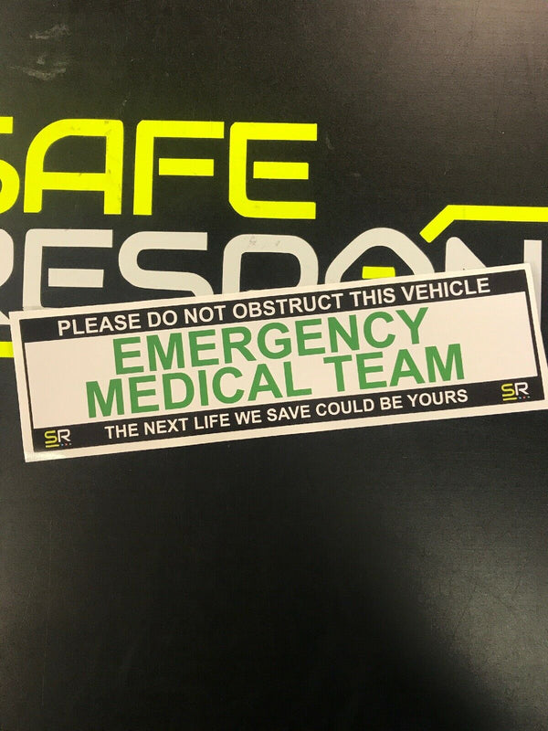 245mm Sticker - Emergency Medical Team - ST24564