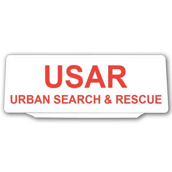 Univisor - USAR Urban Search and Rescue - White B/G (ST2) - UNV191