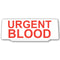 Univisor - Urgent Blood - White with Red text - UNV046