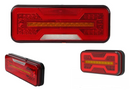 Compact LED tail light - VSWD-850 LEFT Stop Tail Reverse Fog lamp 10-30v