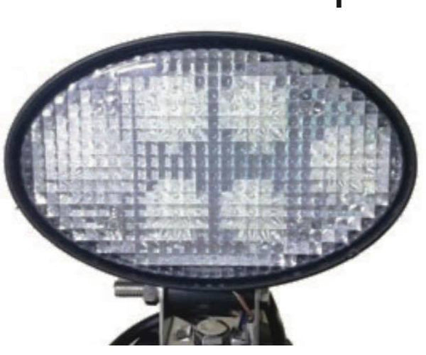 30W Oval Lamp - Work Light FLOOD Beam VSWD-WL611-F