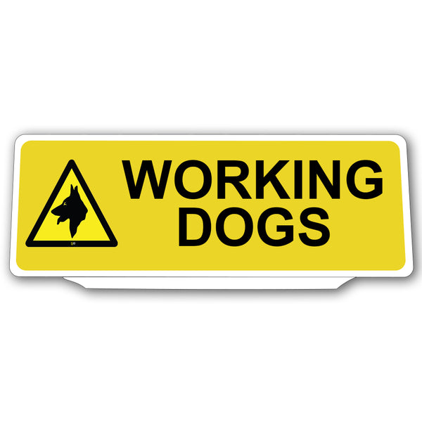 Univisor - Working Dogs with 1 Dog Logo - Yellow - UNV149