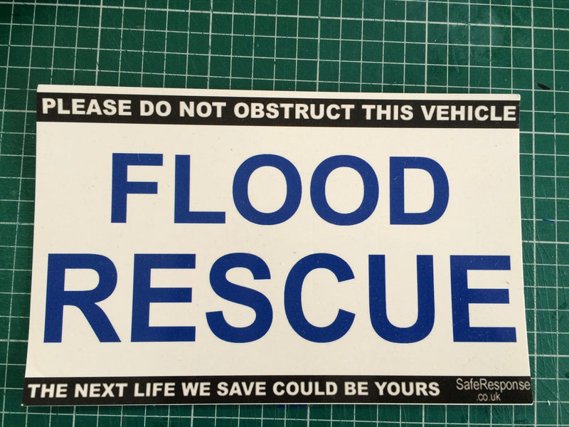 Dash Card - Flood Rescue