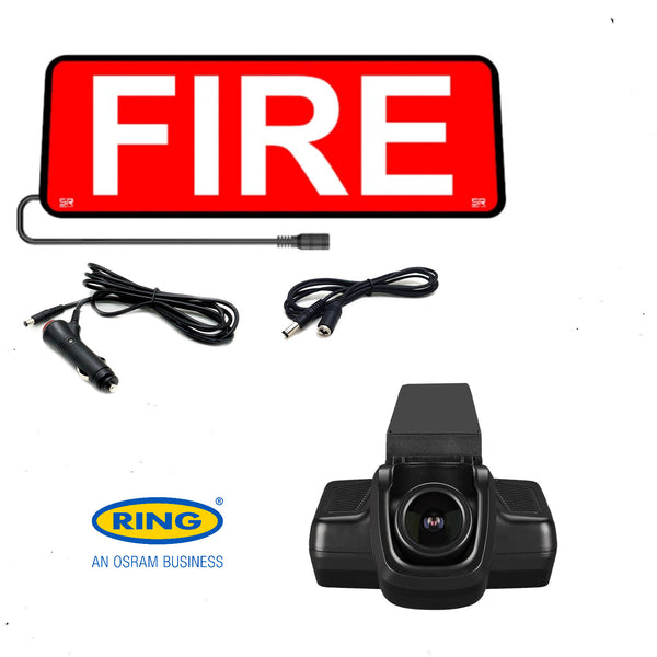 Combo Vehicle Set The All New Safe Responder X & Ring Automotive Dash Cam RVEP1