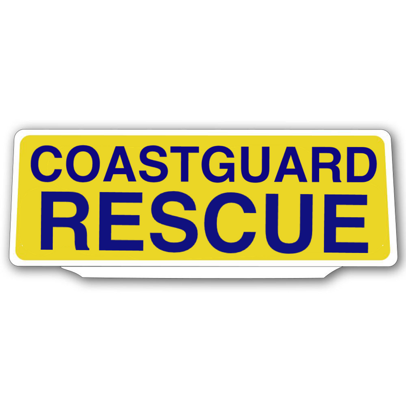 Univisor - COASTGUARD RESCUE - Yellow / Blue - UNV376