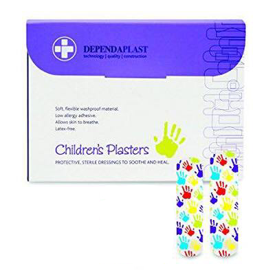 First Aid - Plasters - Children's - Box of 100