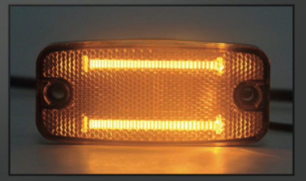 VSWD-849-A - LED Marker Light - Amber ECE R10