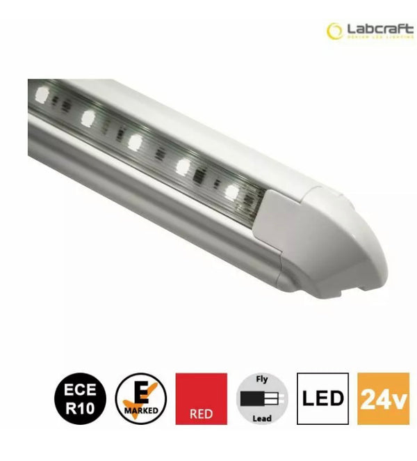 Labcraft Astro - RED LED 24v strip light 343mm - LL2R250