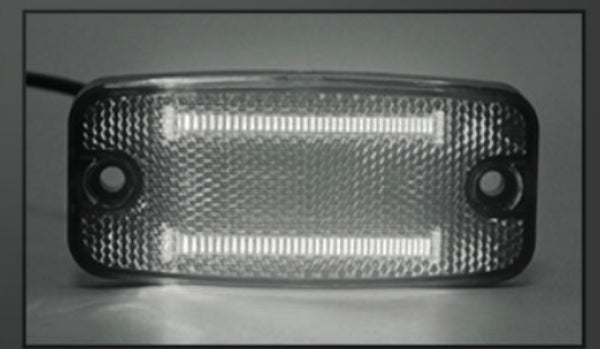 VSWD-849-W - LED Marker Light - White  ECE R10