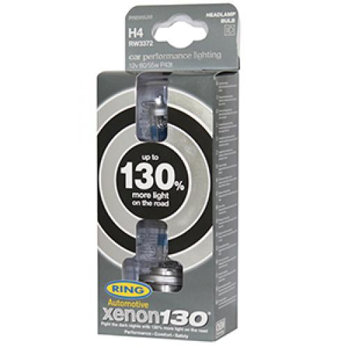 Ring Automotive - Xenon 130 H4 Performance Bulbs RW3372