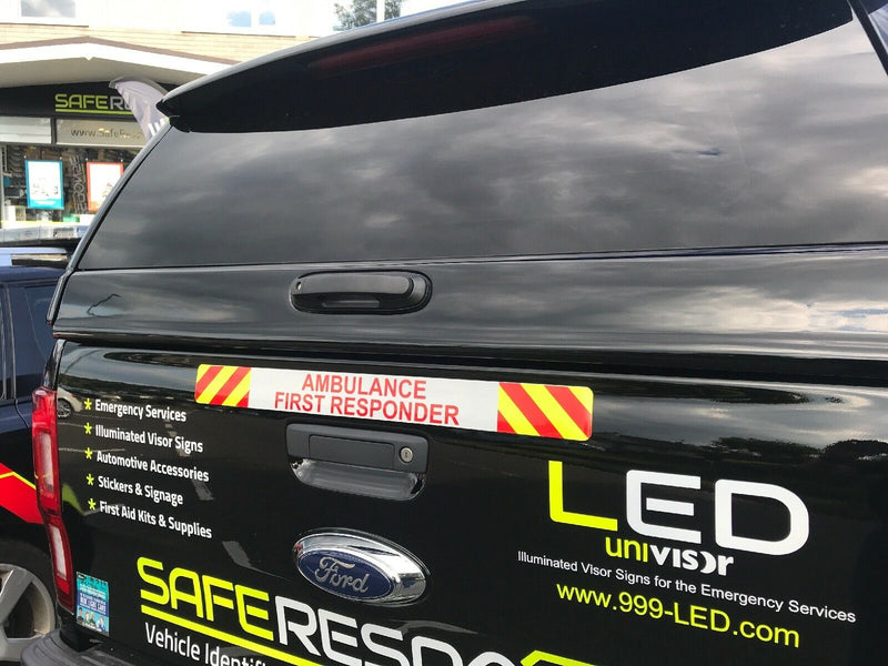 Sticker AMBULANCE FIRST RESPONDER 600mm