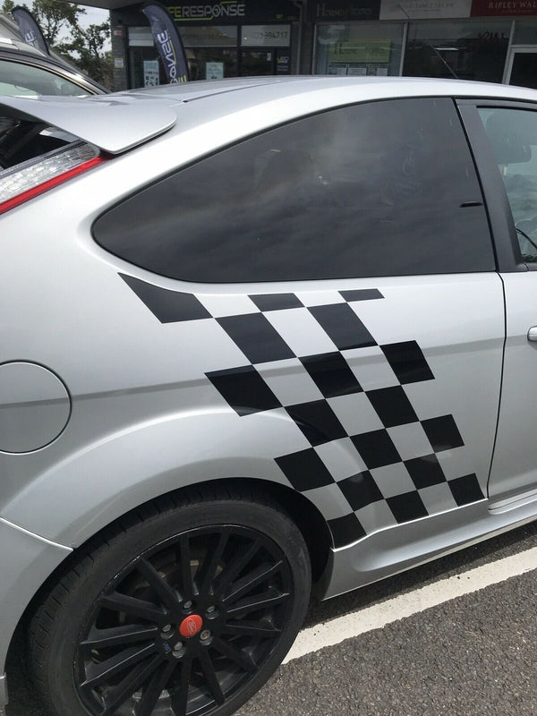 Ford Focus Chequer Side Decal