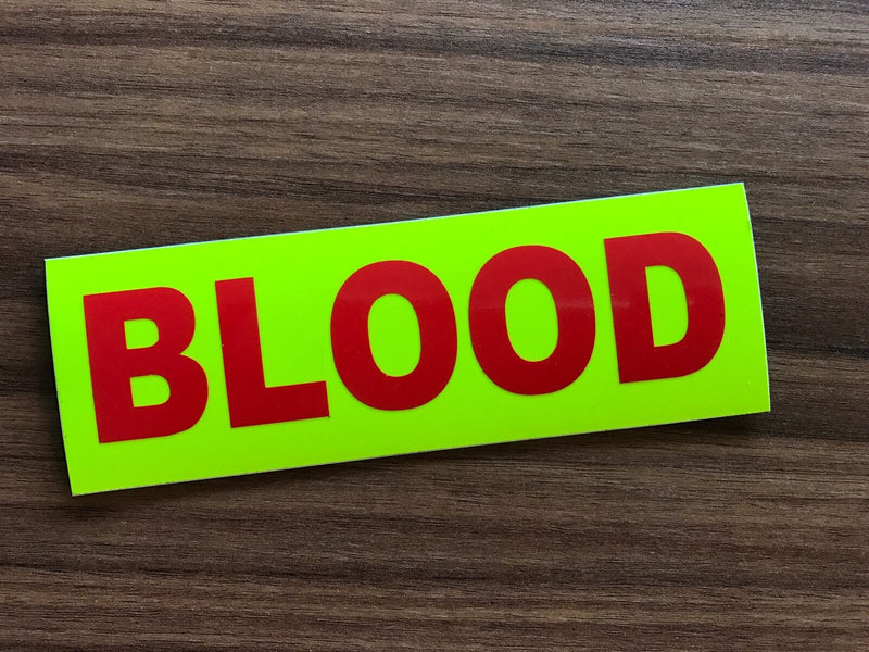 Sticker BLOOD Large