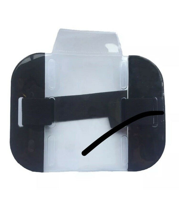 Security ID Arm Band Holder - Black