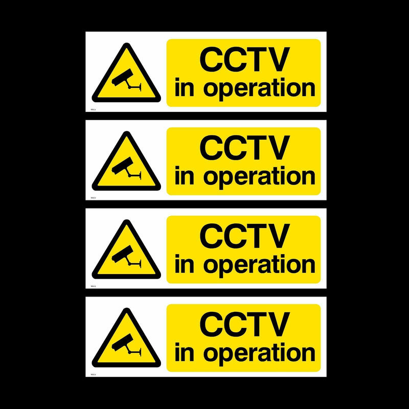 Sticker CCTV IN OPERATION x 1