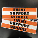 Magnetic EVENT SUPPORT VEHICLE Pair