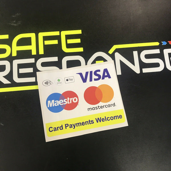 Sticker CONTACTLESS PAYMENTS WELCOME