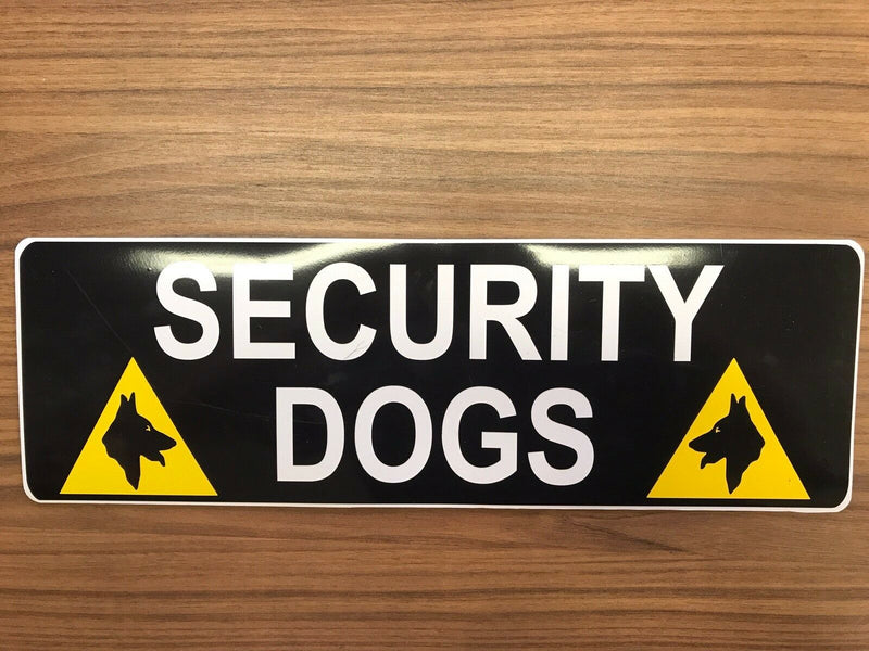 Magnet SECURITY DOGS 900mm