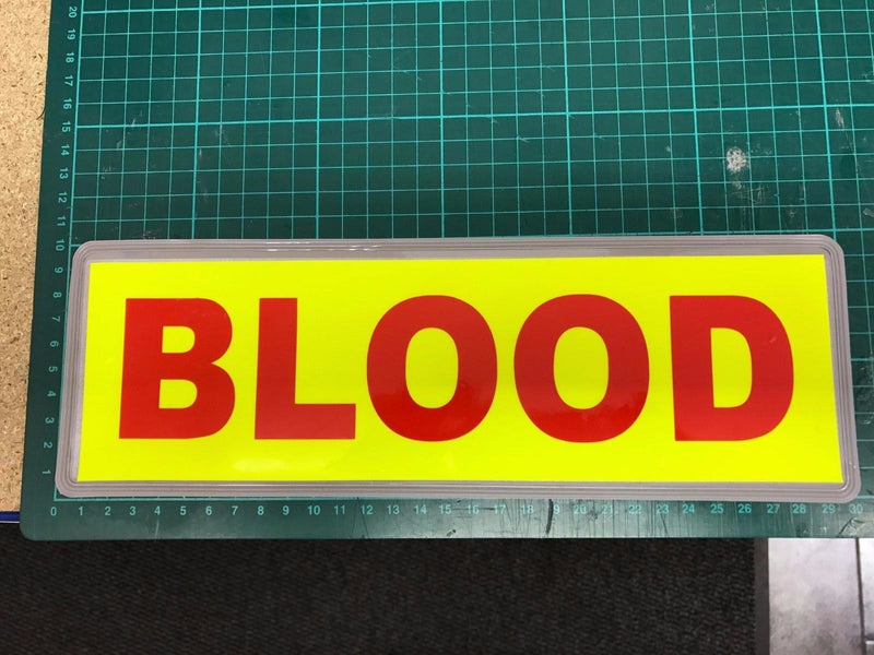 Sticker BLOOD 300mm